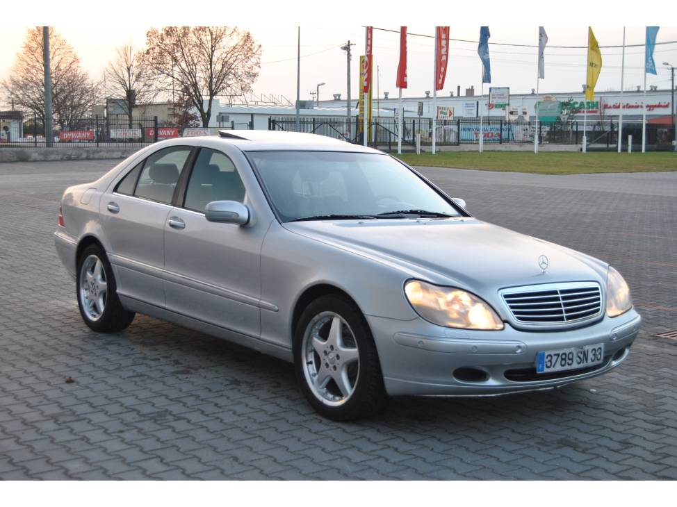 mercedes benz s class w221 s 320 cdi l 235 hp. Black Bedroom Furniture Sets. Home Design Ideas